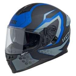 Casque Intégral iXS1100 2.2 noir mat-bleu