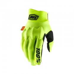 100% Handschuhe Cognito gelb